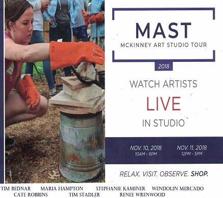 Watch our McKinney Art House artists live this November!