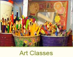 McKinney Art House Art Classes
