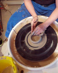 Pottery Wheel & Clay. Ages Adult (Brittney)