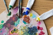 4_ThuAfternoon** Acrylic Painting Class for Beginners **Ages 11-Adults (Ivona)
