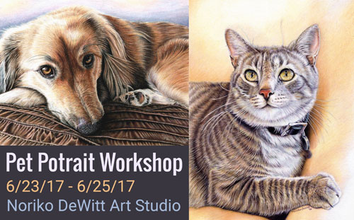 Pet Portrait Workshop Title