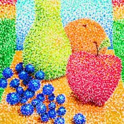 Pointillism Fruit