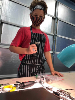 June 28–July 1 10:00 am - 1:00 pm intro to torch work and soldering (ages 10 -18)