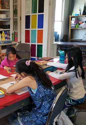 Friday 10.00am -Noon Homeschool. Colored Pencil. Ages 10- Adult (Noriko)