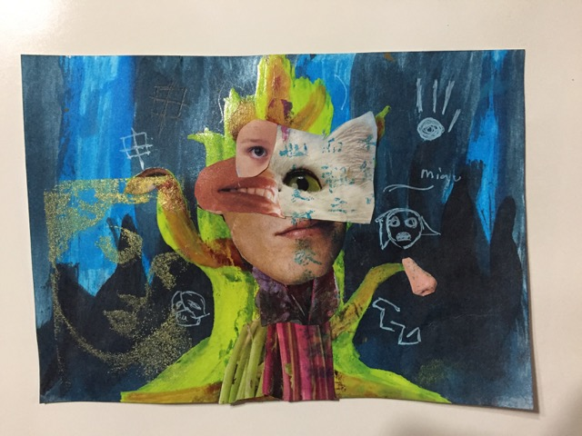 Mon 10.30am-12.30pm Mixed Media Art Ages 6-adult (Wendolin)